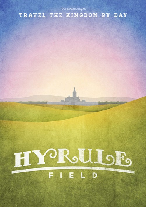 hyrule,list,posters,Travel,zelda