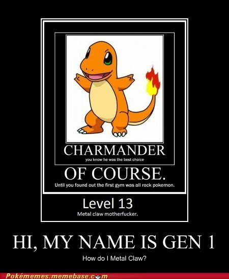Gen 1 would like to have a word with you