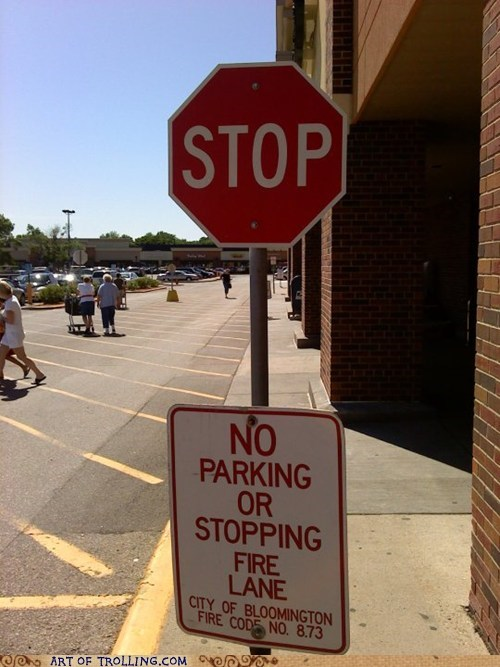 parking lot,stop sign,stop