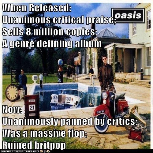 oasis,albums,critics
