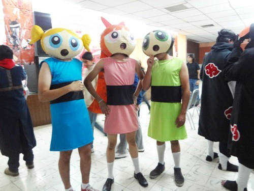 cosplay,powerpuff girls,cartoons