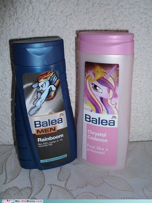 IRL,cadence,shower gel,rainbow dash