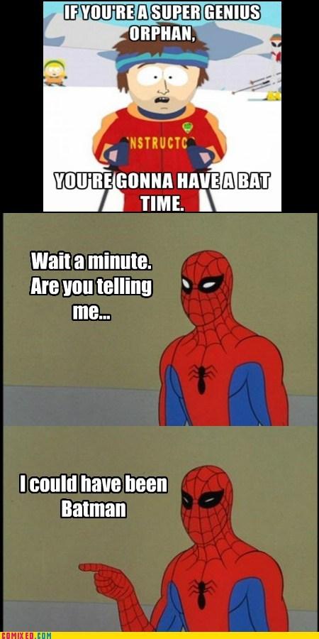 sad but true orphans batman Spider-Man - 7344344064
