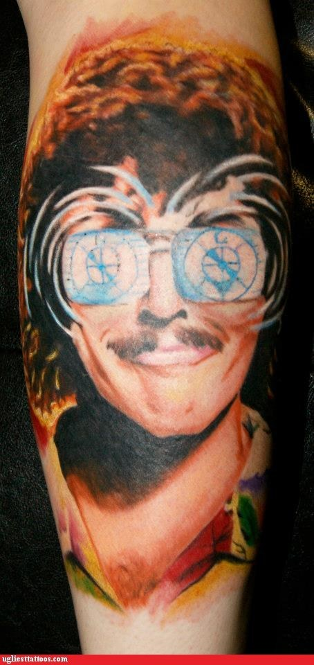 weird al,leg tattoos,UHF