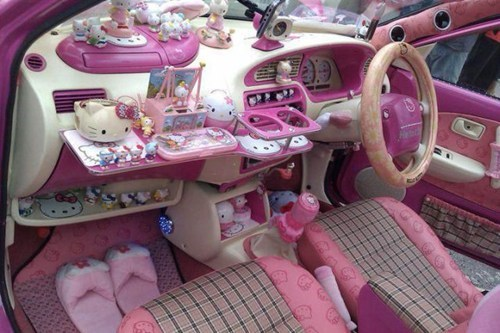 pink cars hello kitty g rated there I fixed it - 7344596224