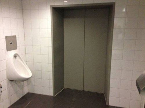 urinals elevatoirs restrooms - 7344624384