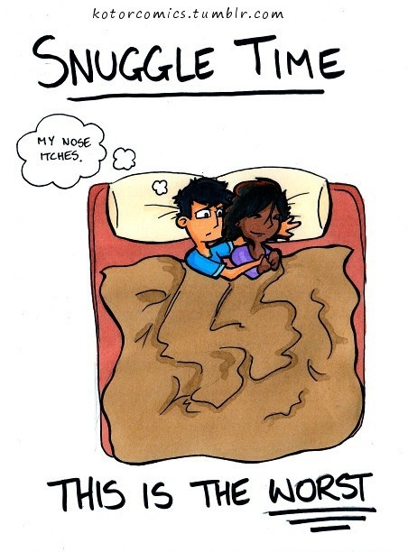 kotor comics the worst comics snuggling - 7344911872