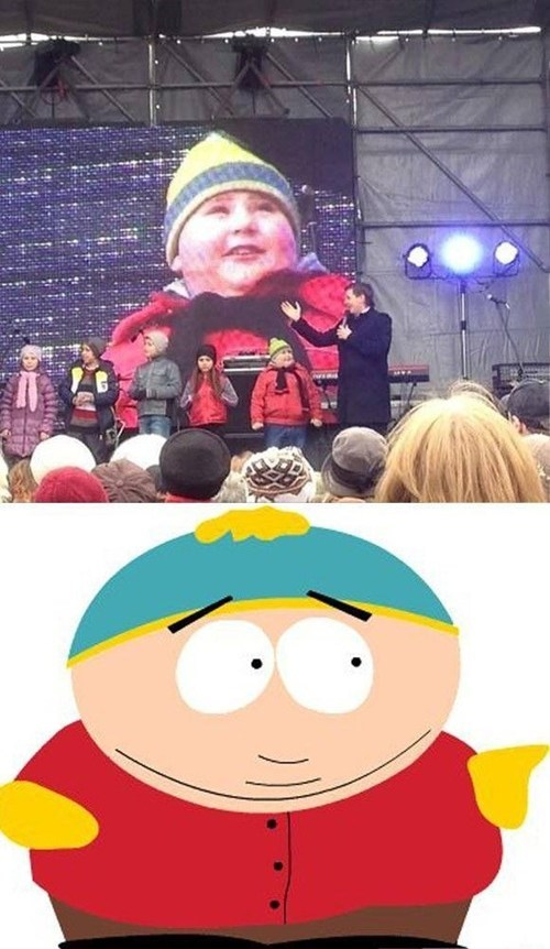 South Park,totally looks like,eric cartman,poorly dressed,g rated