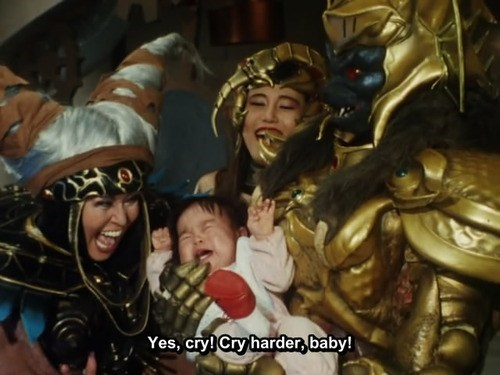 Babies,Mighty Morphin Power Rangers,children