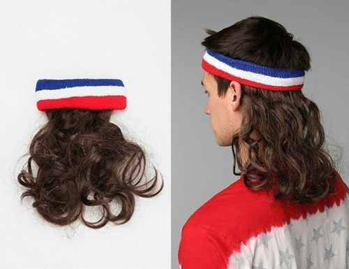 sweat bands wigs hair extensions poorly dressed - 7345867776