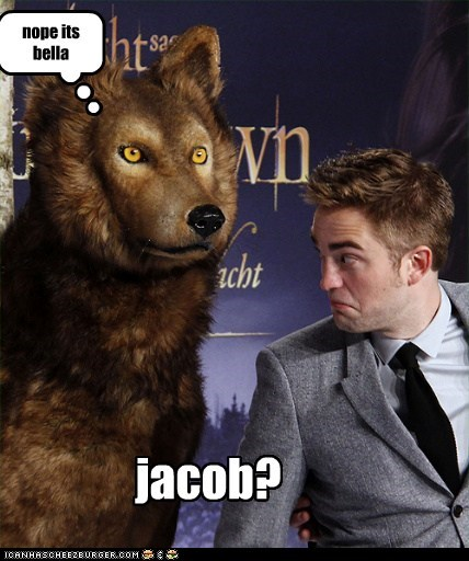 jacob? nope its bella
