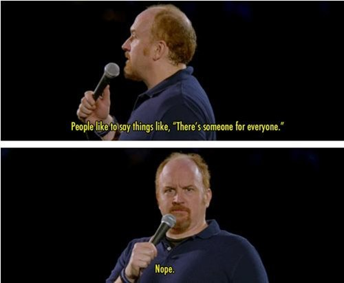 not for you,someone for everyone,louis ck