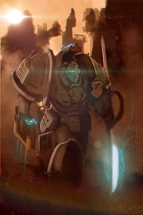 art mashups warhammer 40k dead space - 7346339072