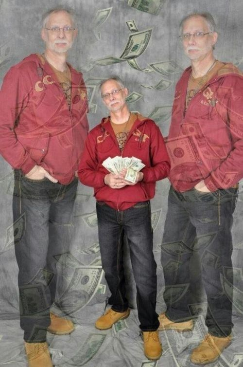 wtf glamour shots dad dollars money - 7346643968