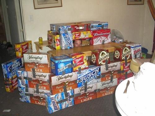 beer boxes fort beer - 7346647552