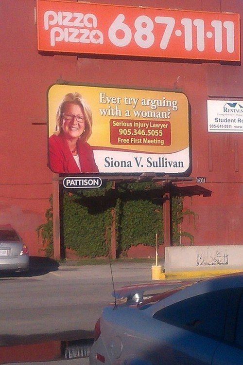 billboards Lawyers women - 7347116032