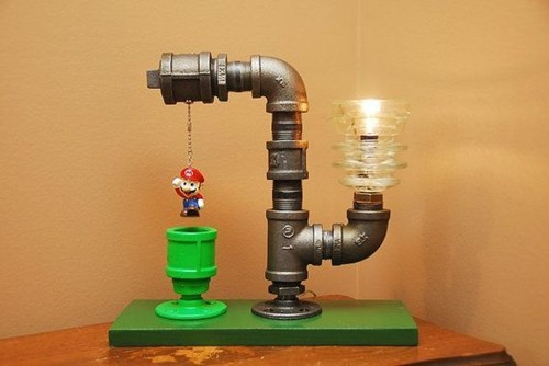 nerdgasm,light,DIY,video games,Super Mario bros