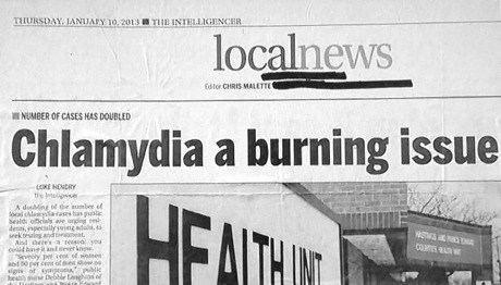 STD,disease,newspaper