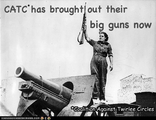 * *Coalition Against Twirlee Circles