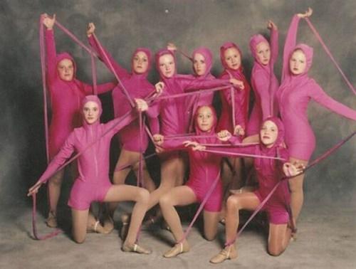 uniforms,wtf,pink