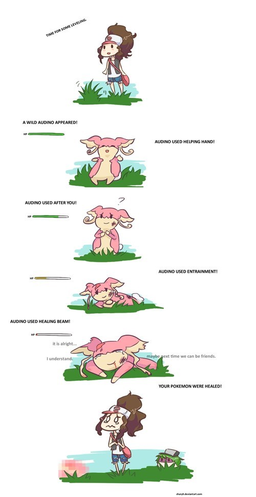 experience comics battles audino - 7348870912