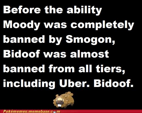 smogon moody Pokémon ubers bidoof - 7348900864