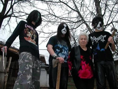 axes wtf grandmas blackmetal corpse paint - 7348946176