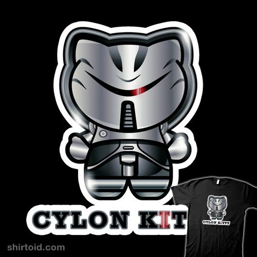 crossover hello kitty Battlestar Galactica - 7349044224