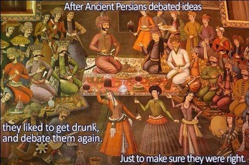 alcohol debating persians - 7349166336