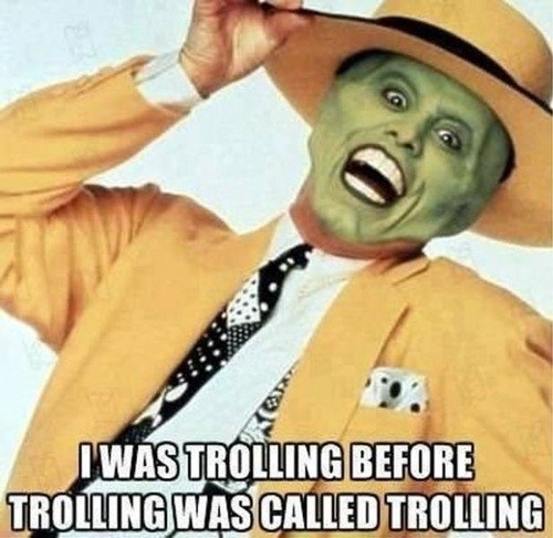 the mask,troll
