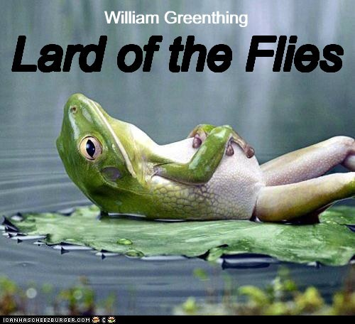 book,funny,lord of the flies,frog