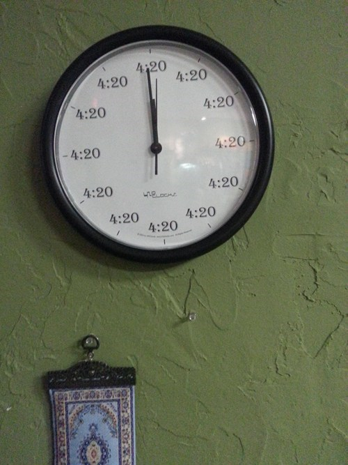 marijuana 420 clocks holidays - 7349490688