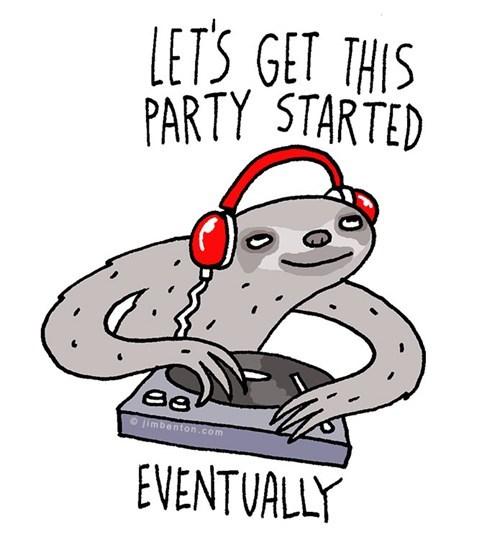 sloths parties djs - 7349539840