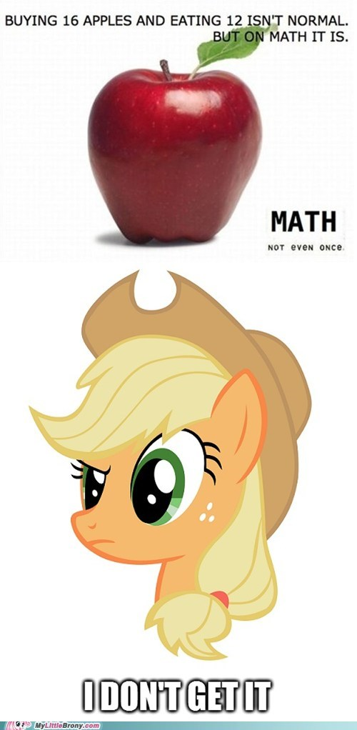 applejack apples math - 7349922816