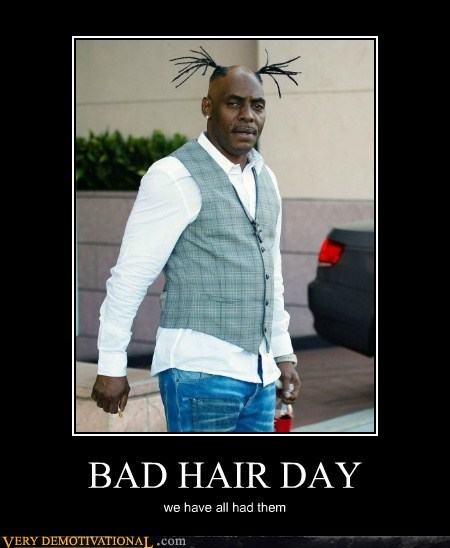 coolio,bad hair day,balding