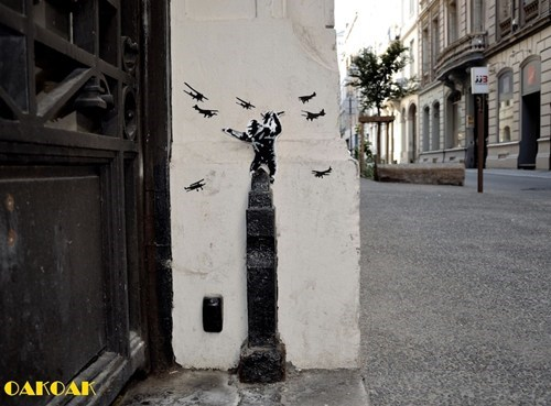 Street Art,king kong,hacked irl