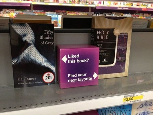 bible,fifty shades of grey,books,fail nation,g rated