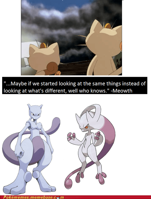 Meowth quotes mewtwo newmew - 7351316480