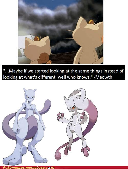 Meowth quotes mewtwo newmew - 7351316480