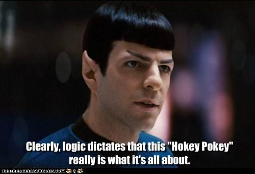 Vulcans hokey pokey Star Trek - 7352450048