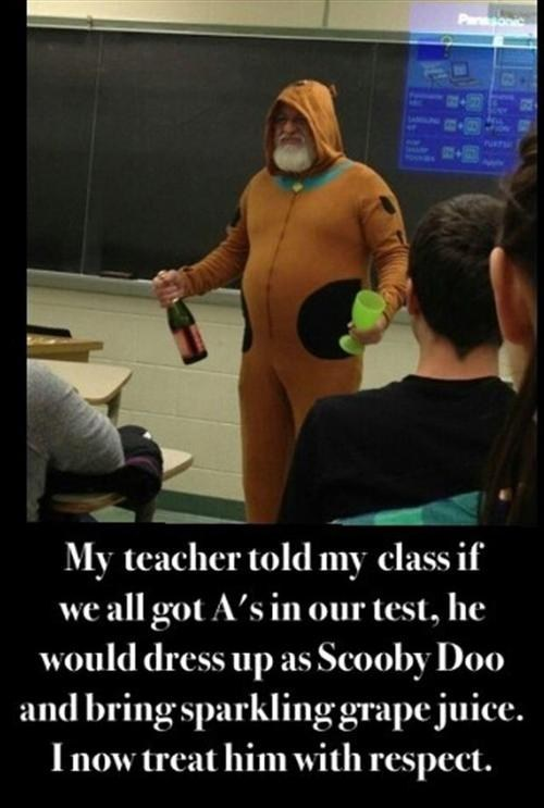 scooby doo teachers costume - 7352904192