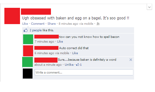 breakfast autocorrect baken eggs bacon