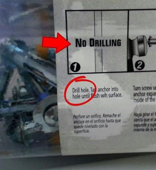 drills instructions - 7353116160