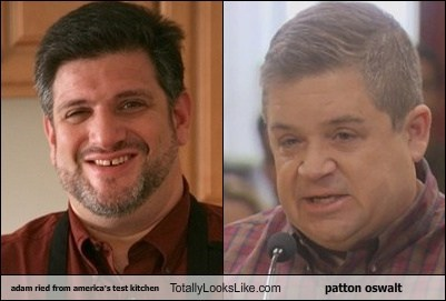 adam ried,Patton Oswalt,totally looks like