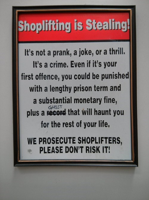 shoplifting,stealing,crime,ghosts,theft