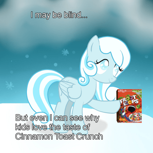 cinnamon toast crunch froot loops snowdrop cereal