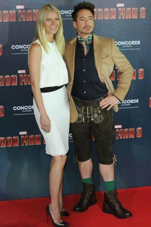 robert downey jr kilts iron man poorly dressed g rated