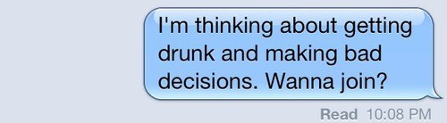 bad decisions iPhones good plan