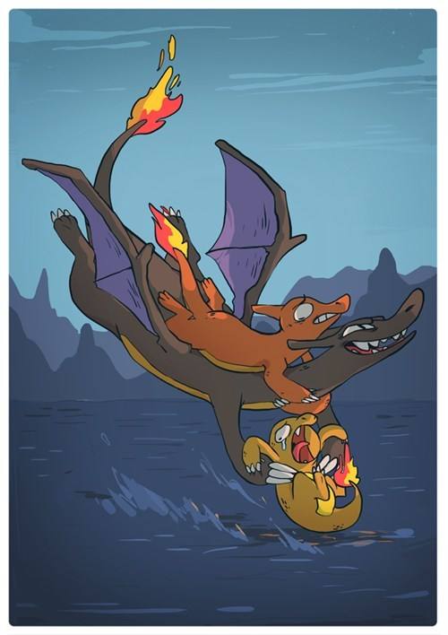 art charizard shinies cruel - 7354278656