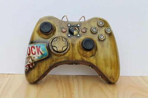 custom,bioshock infinite,xbox,controllers